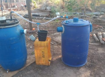 biodigestor desenvolvido na Uespi, em Parnaiba