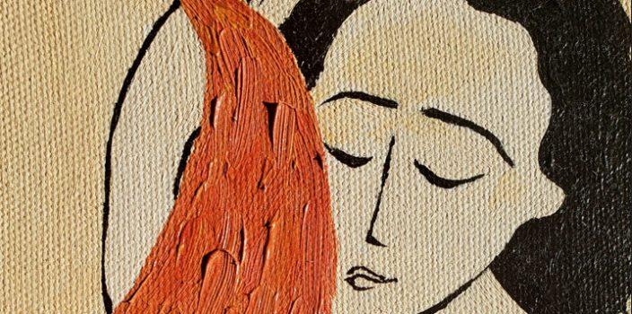 arte de Karen Giannine Schubalski - capa da cartilha da Unicentro