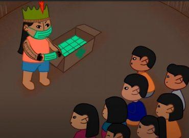Grandes Guerreiros e Guerreiras - animação para público indígena