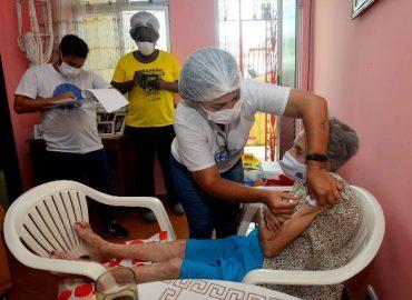 vacinação em Salvador: pandemia ainda não passou